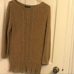 Ralph Lauren Cable Knit Sweater Medium